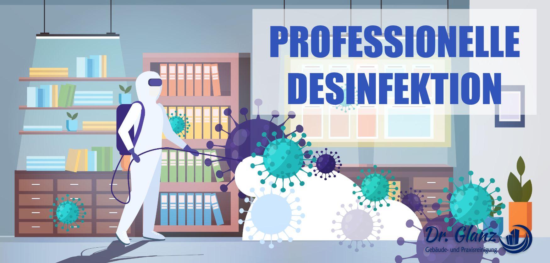 Professionelle Desinfektion